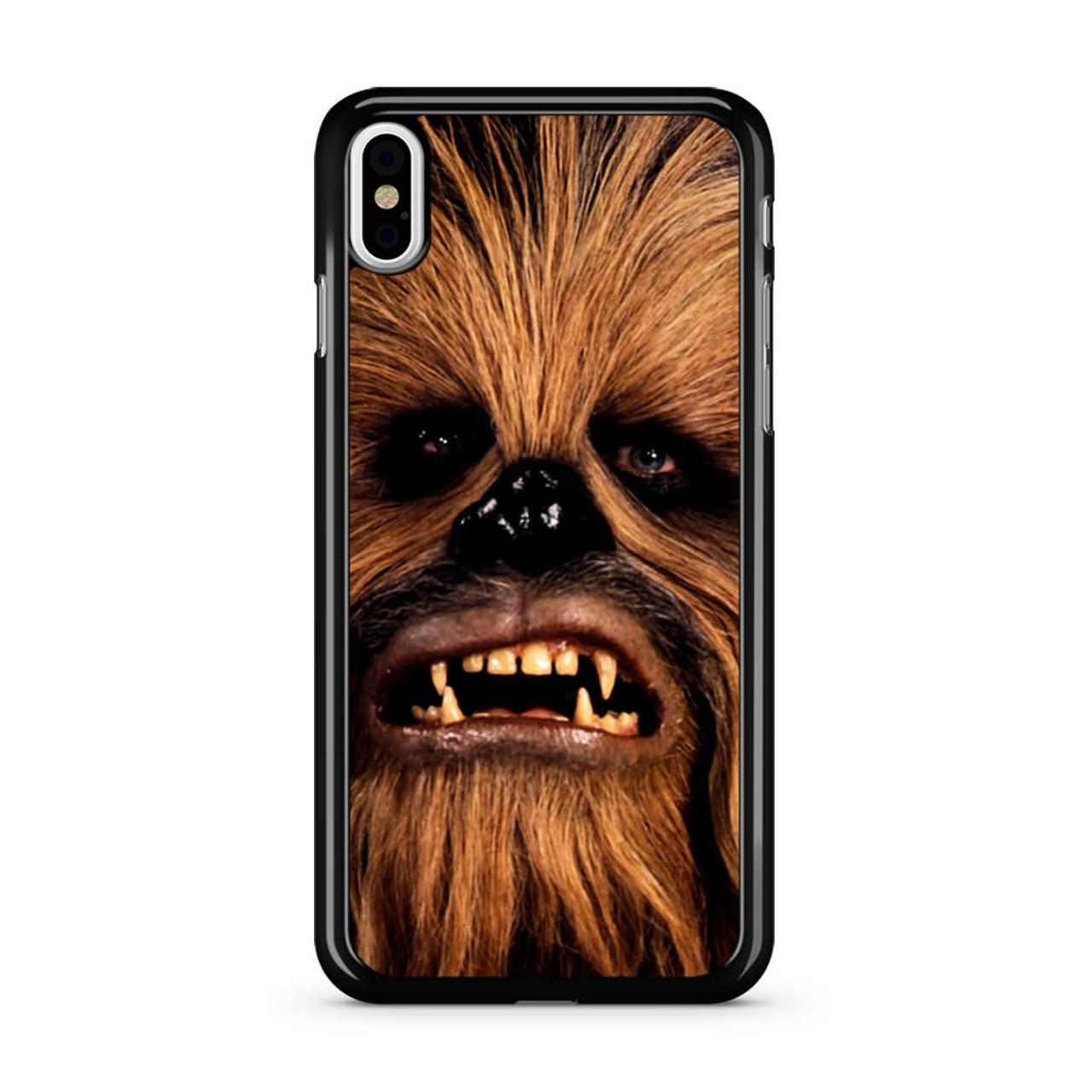 new arrival 3505b 342e8 Face Chewbacca iPhone X Case