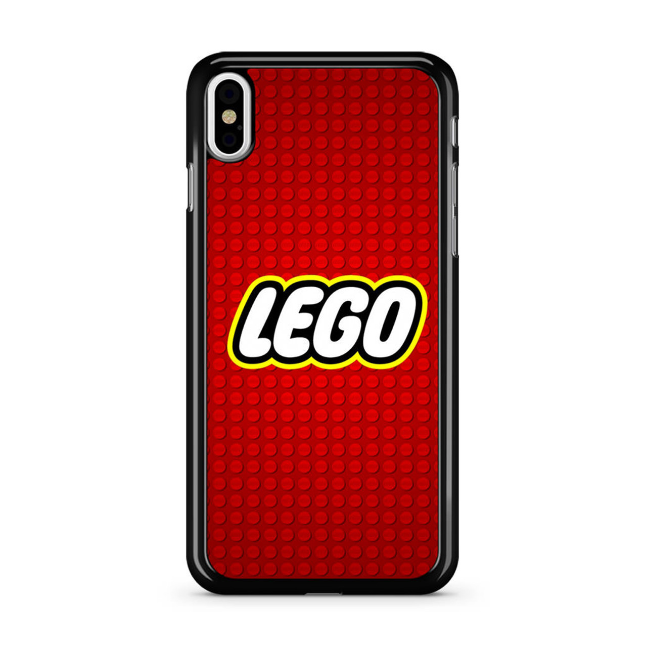 best service a8cb8 dc7d9 Lego Logo iPhone X Case