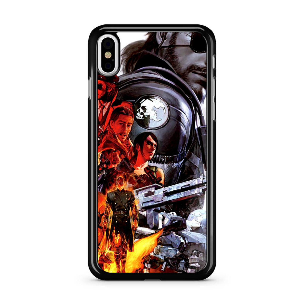 purchase cheap 5e018 40897 Metal Gear V The Panthom Pain Solid Snake iPhone X Case