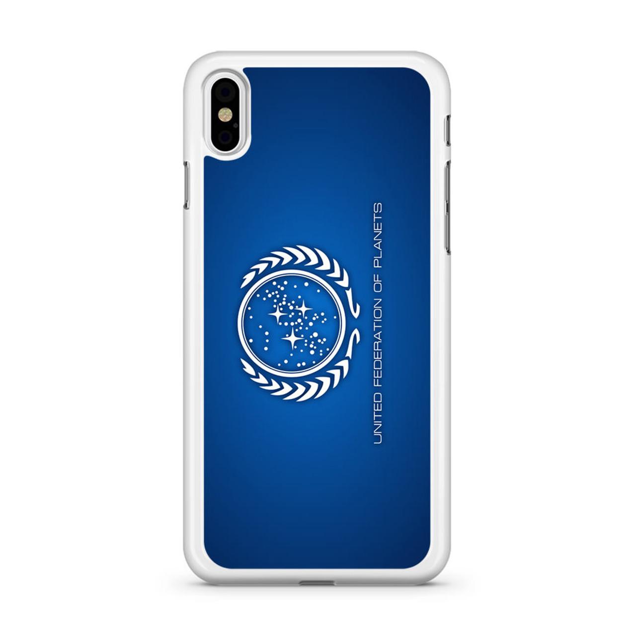 Star Trek United Federation Of Planets Iphone X Case Caseshunter