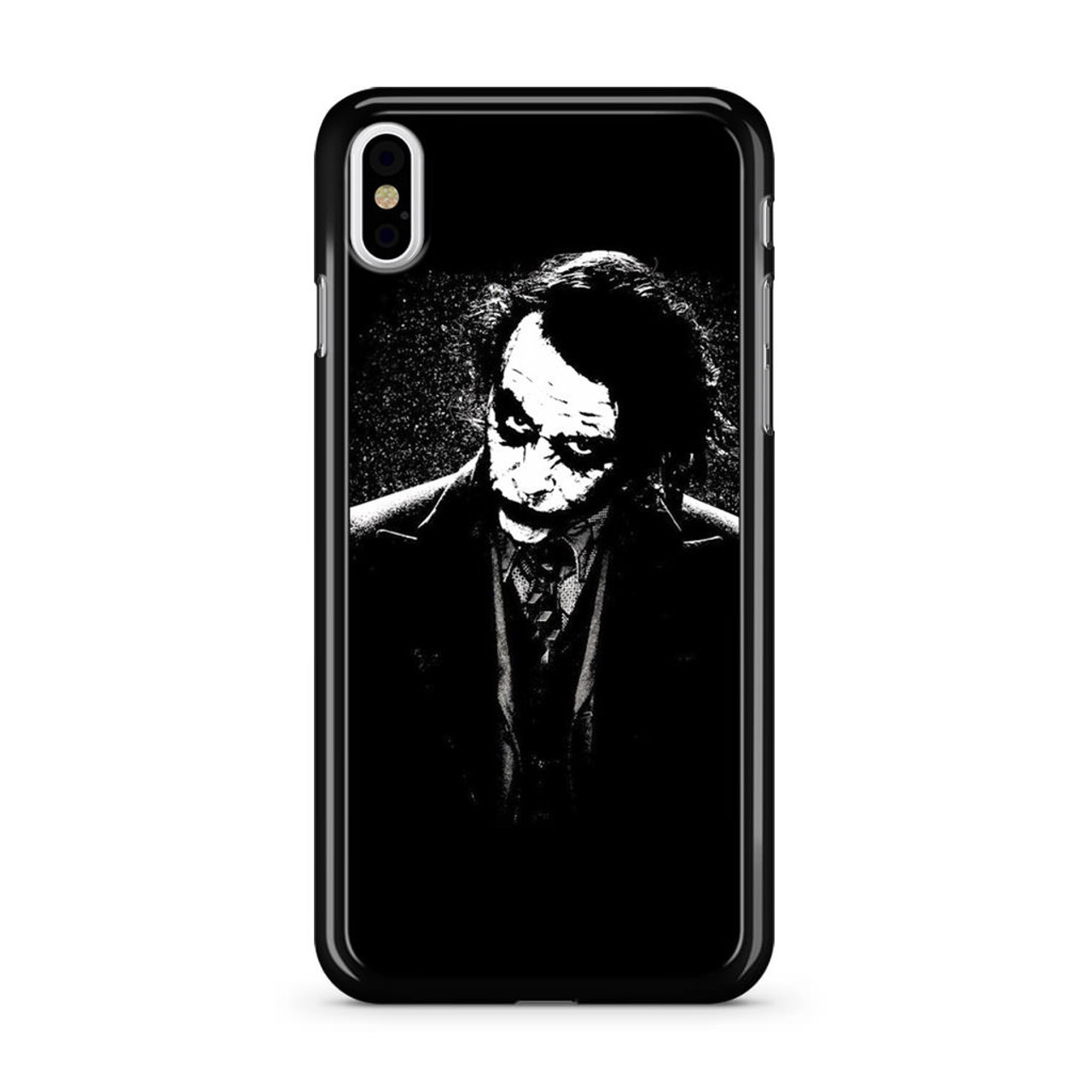 The joker black white iphone x case caseshunter