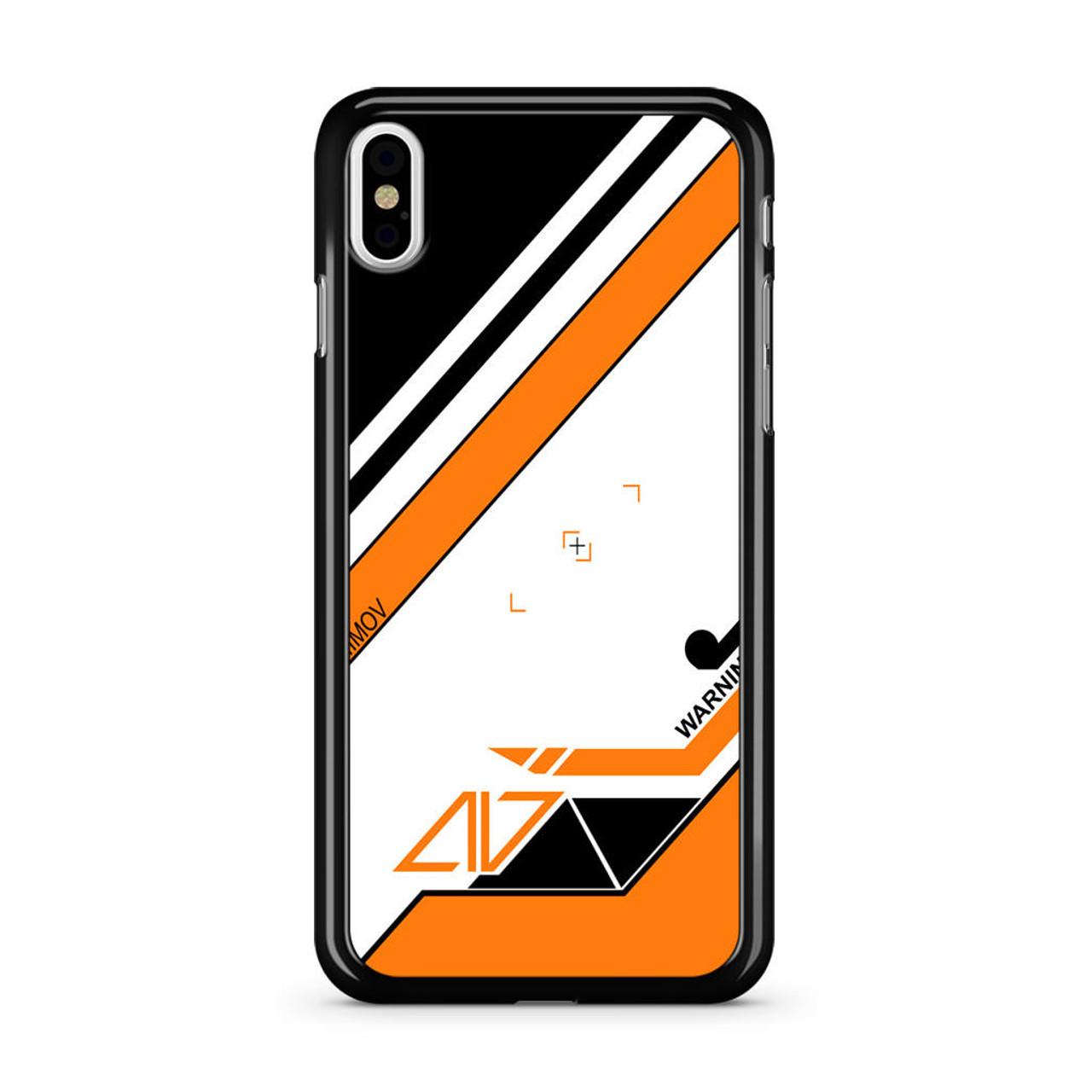 Asiimov Black Cs Go iPhone X Case