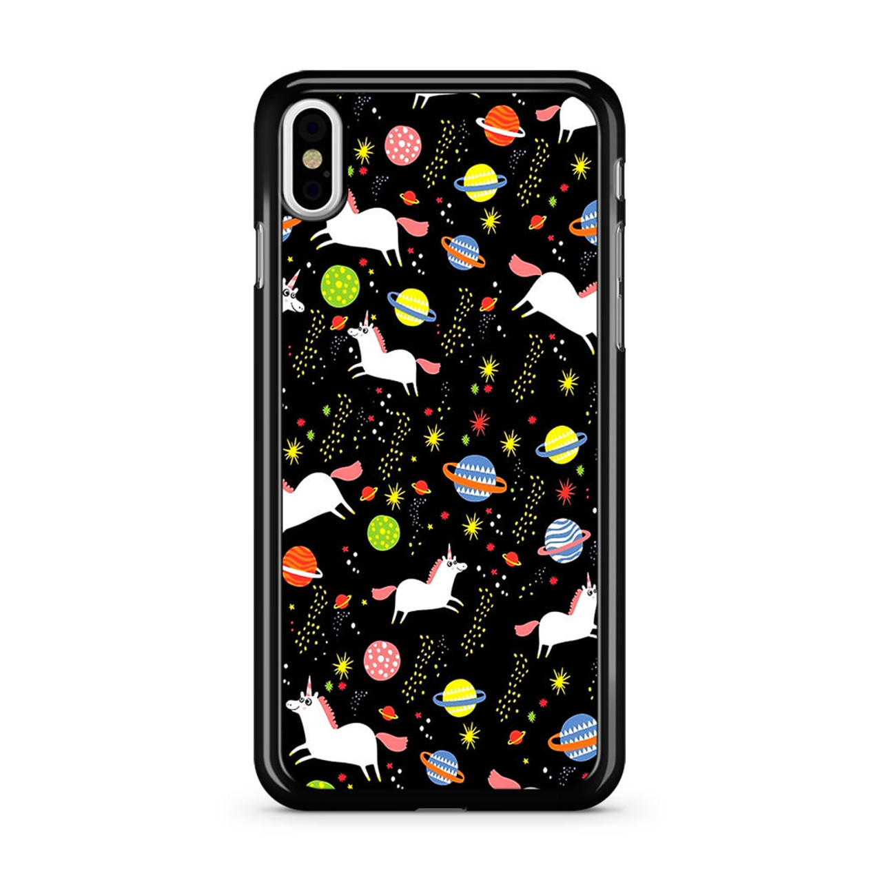 buy popular 6290d 67a43 Space Unicorn Pattern iPhone X Case