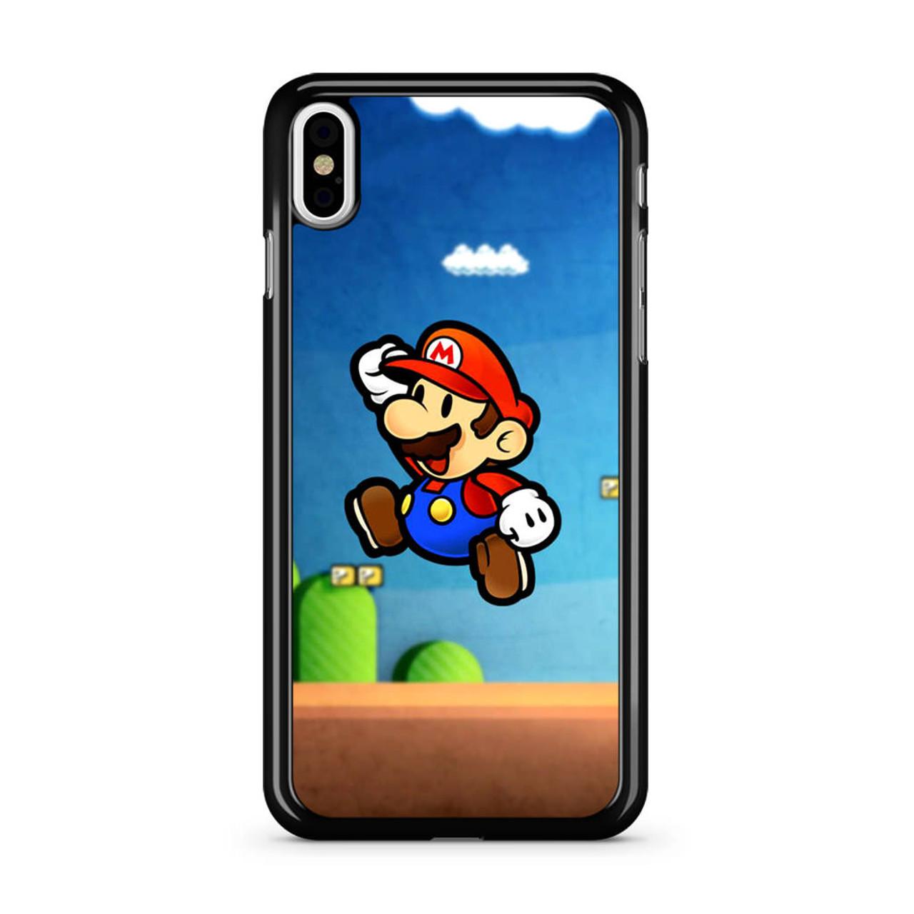 cheaper 84c45 9f24c Super Mario Bros 2017 iPhone X Case