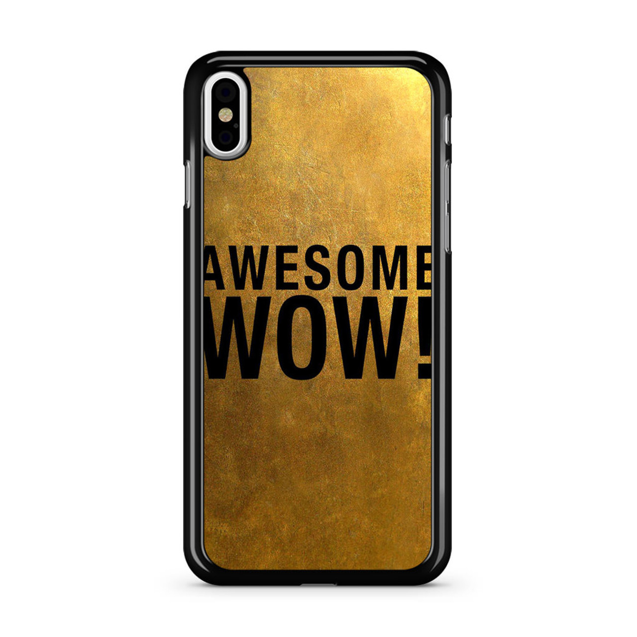 quality design 9102b c819a Awesome Wow Hamilton iPhone X Case