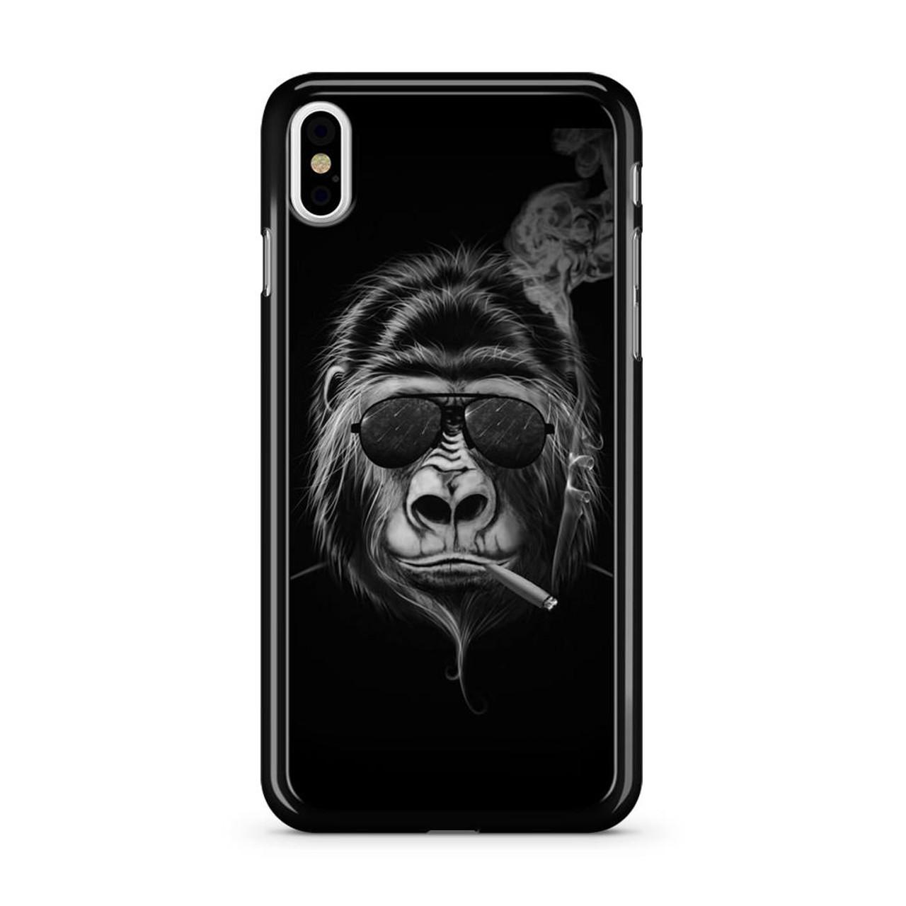 sale retailer 3cdc5 1dbd6 Badass Gorilla iPhone X Case