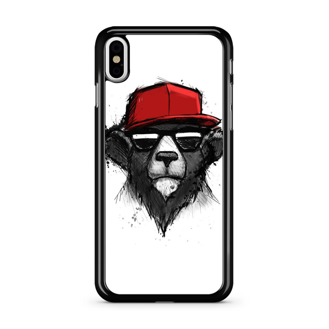 finest selection 4e07c 17c3f Dope Bear iPhone X Case