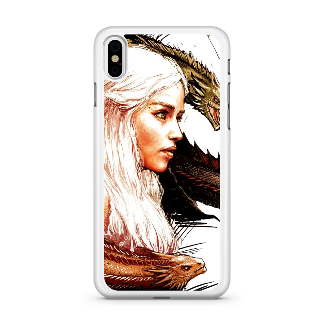 Game Of Thrones Daenerys Targaryen Art iphone case