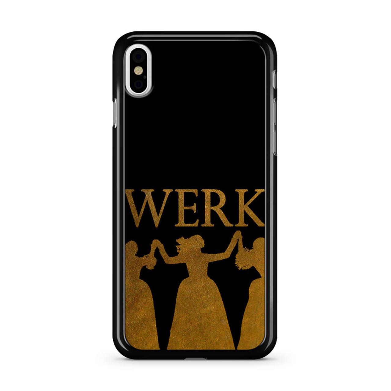 low priced 325fc b1a1e Hamilton Werk iPhone X Case
