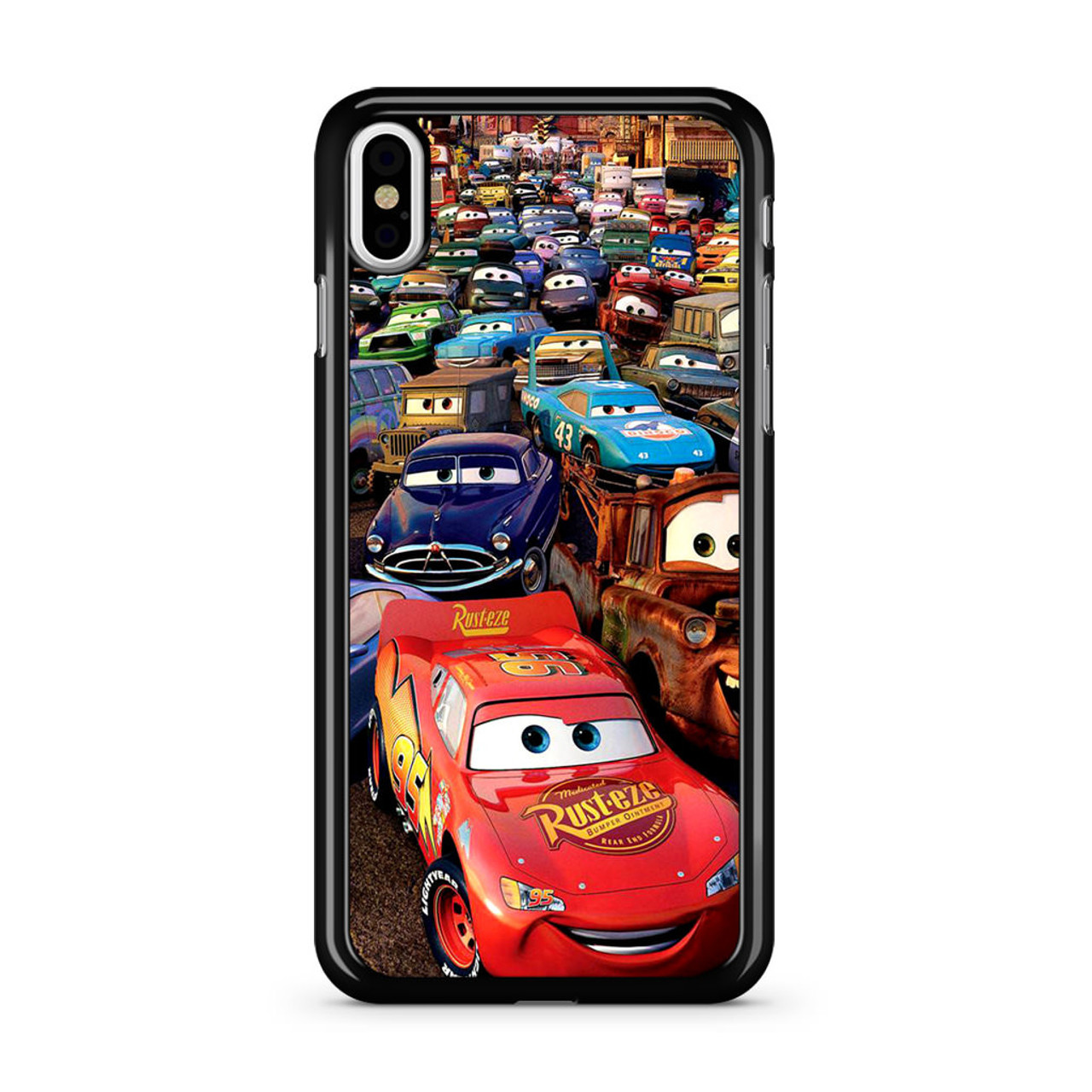 newest 9fdcf c1bfd Lightning McQueen Disney Cars iPhone X Case