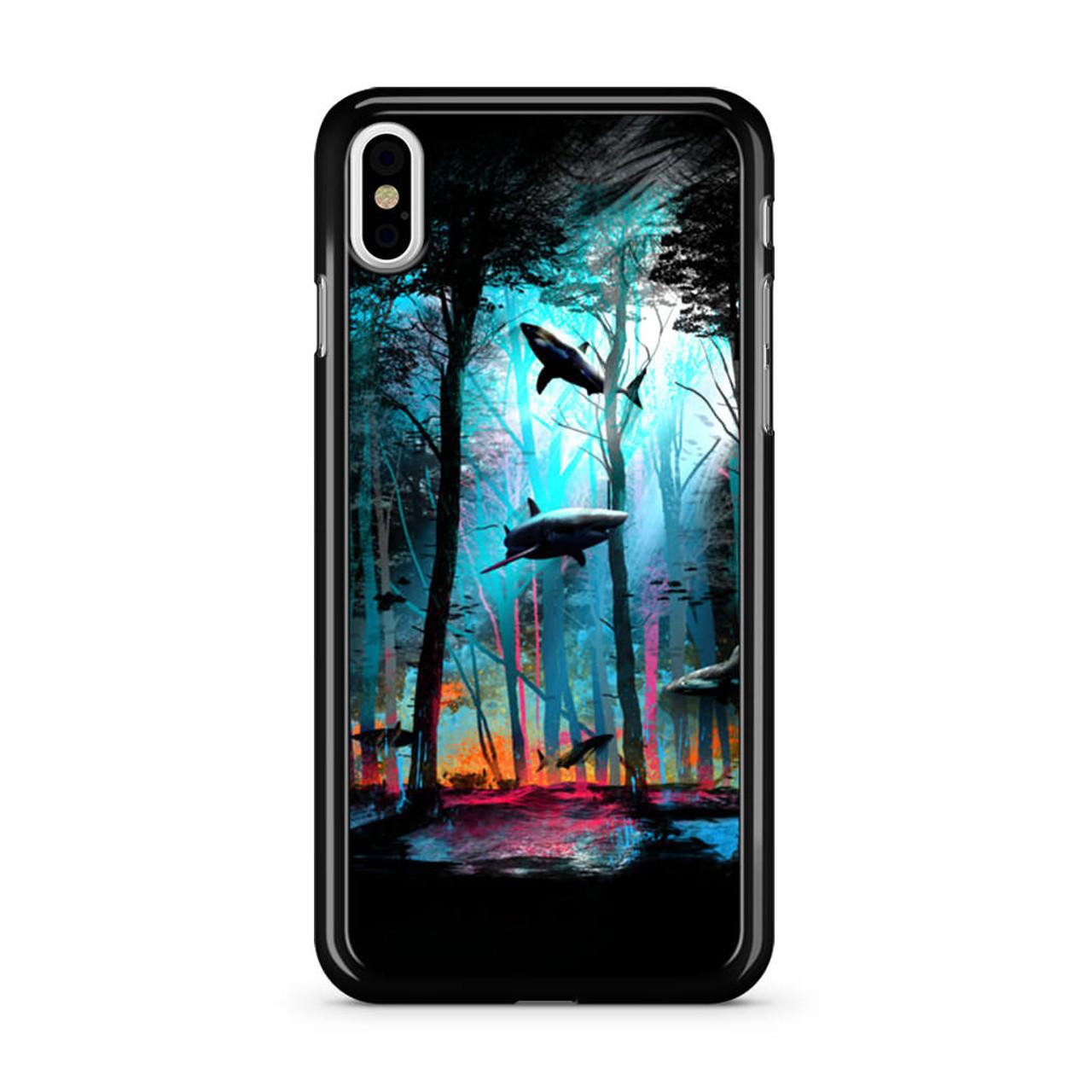 meet a50de e0378 Shark Forest iPhone X Case