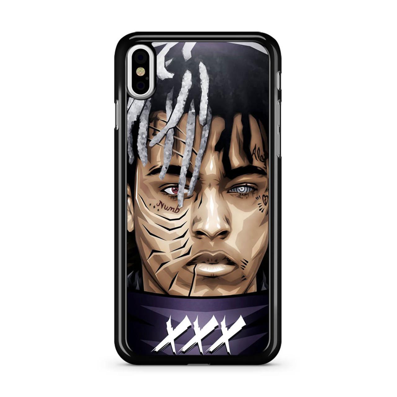 new products 4284e 5dd9e Xxxtentacion Obito Naruto iPhone X Case