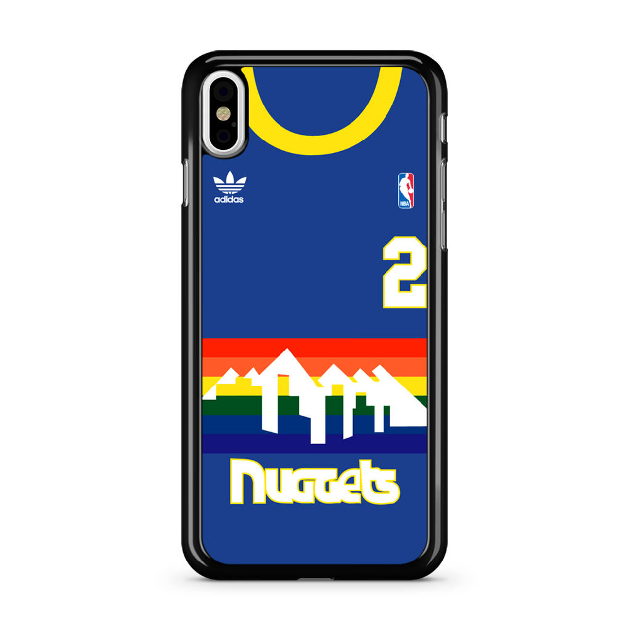 size 40 6840c b600d Denver Nuggets Alex English Jersey iPhone X Case