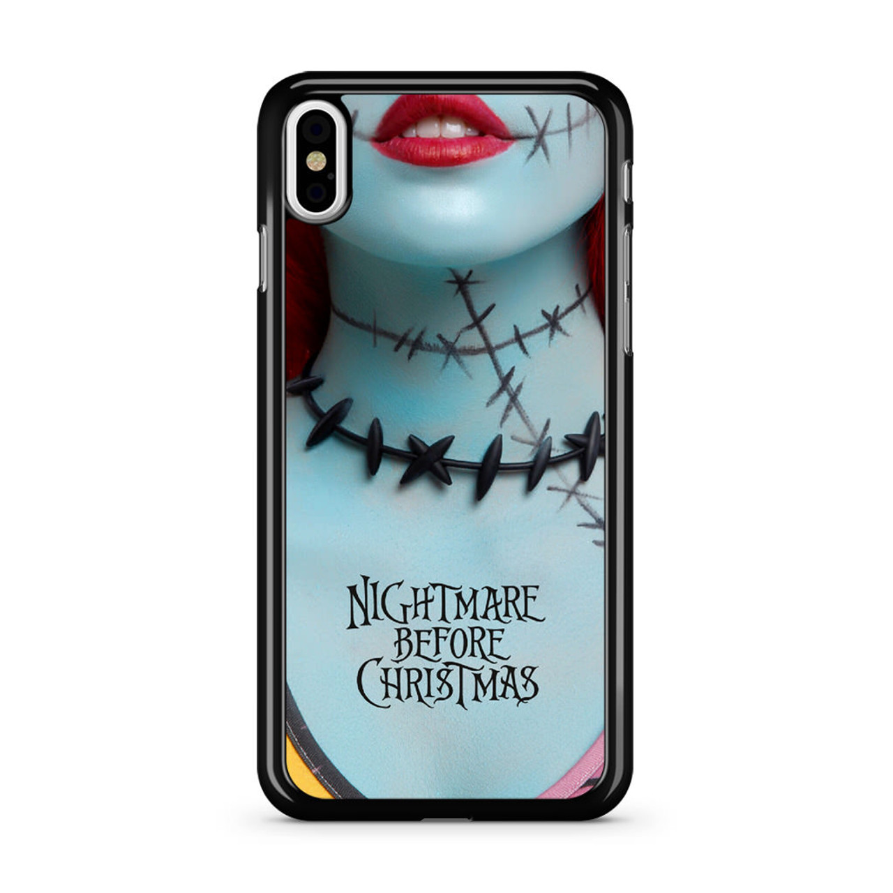 the best attitude c30be 54851 Nightmare Before Christmas Sally iPhone X Case