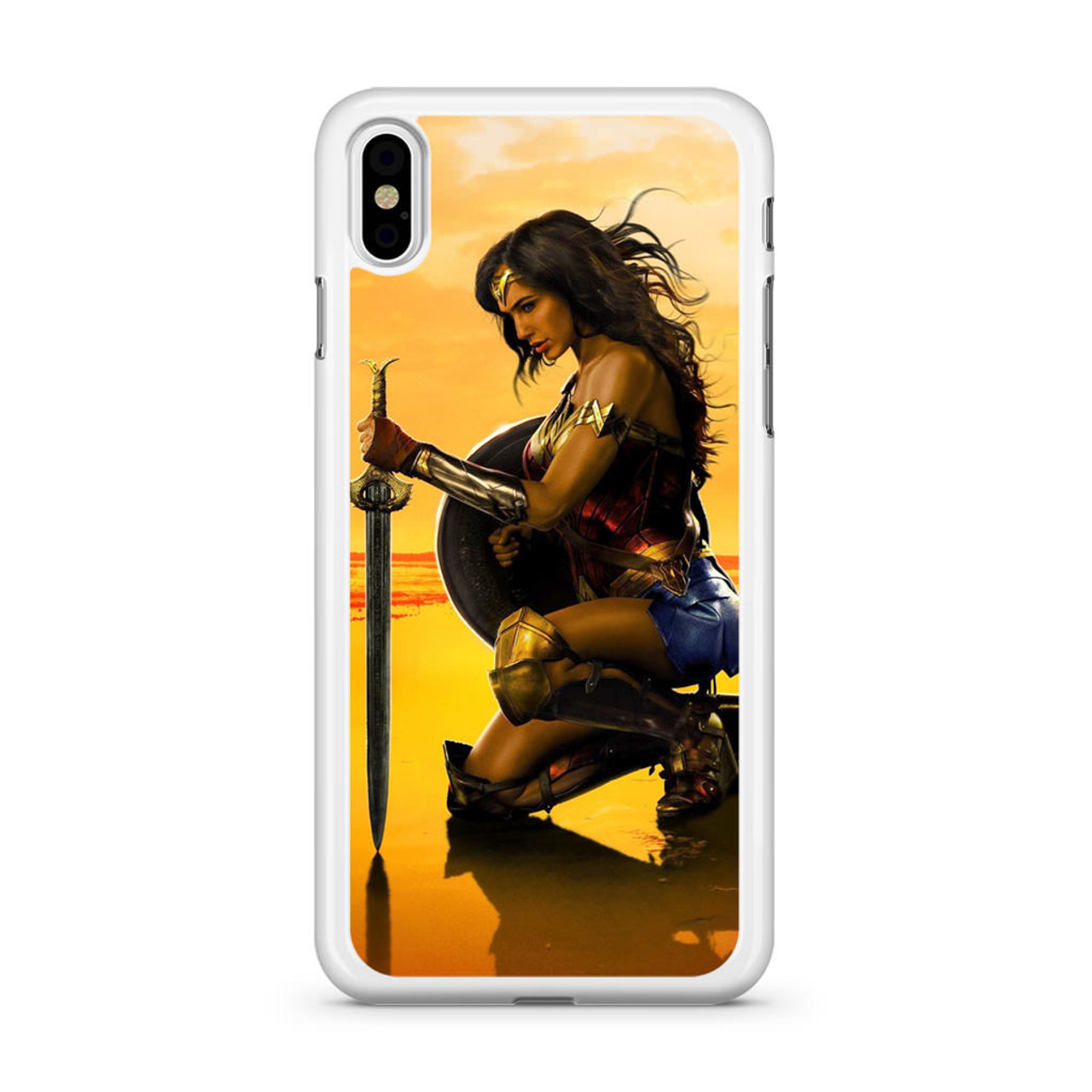 WONDER WOMAN Gal Gadot Poster iphone case