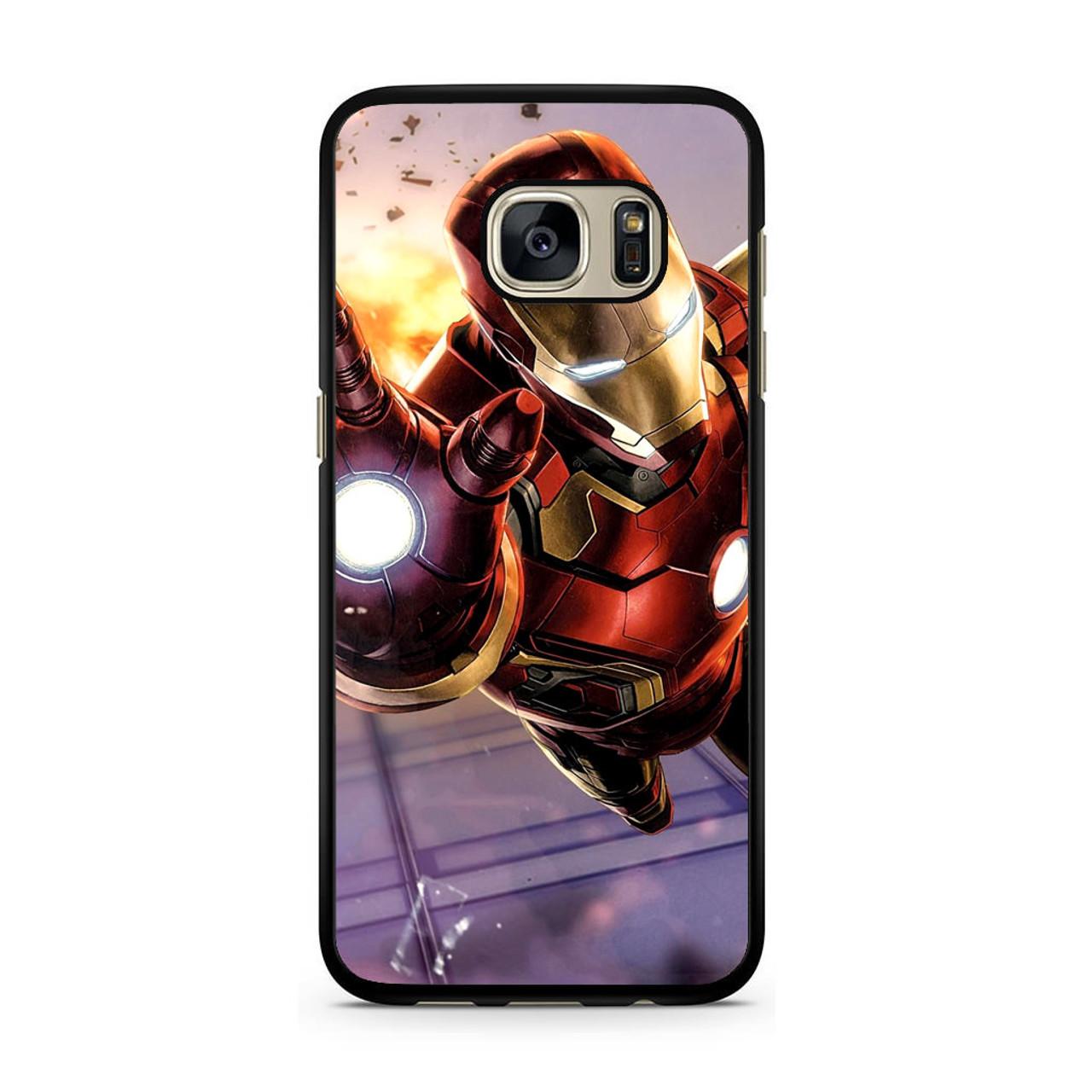 sale retailer bd74d 2700d Iron Man Avengers Samsung Galaxy S7 Case