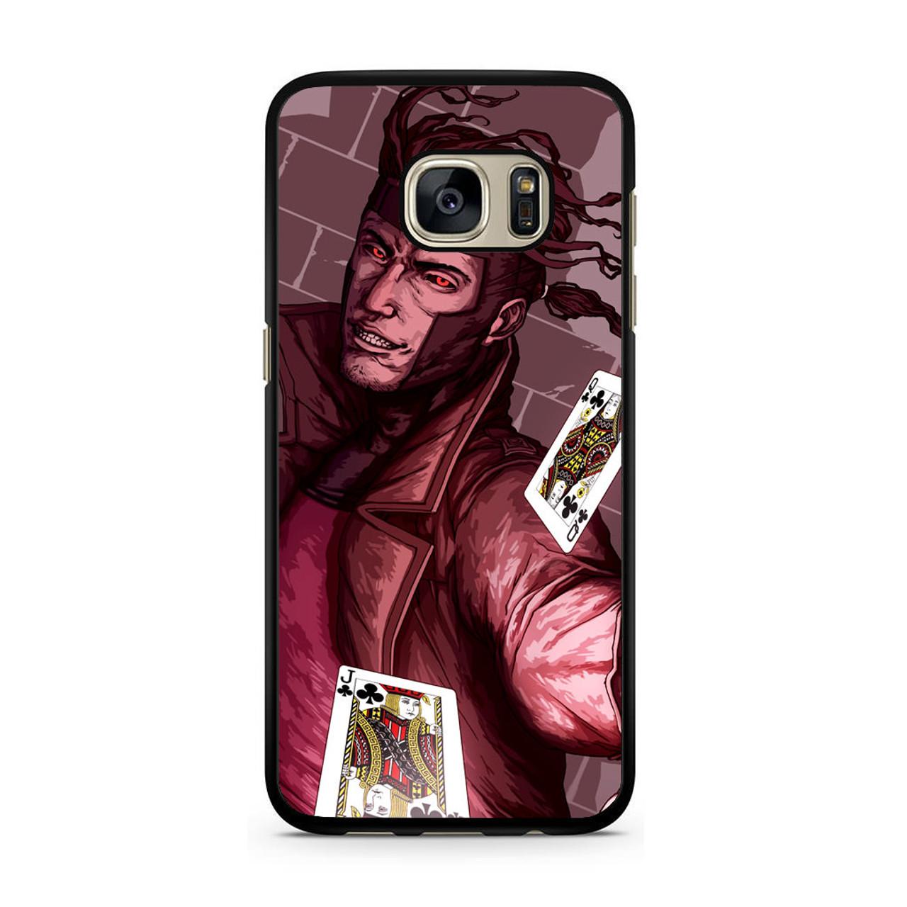 quality design 719c0 e7363 X Men Gambit Samsung Galaxy S7 Case