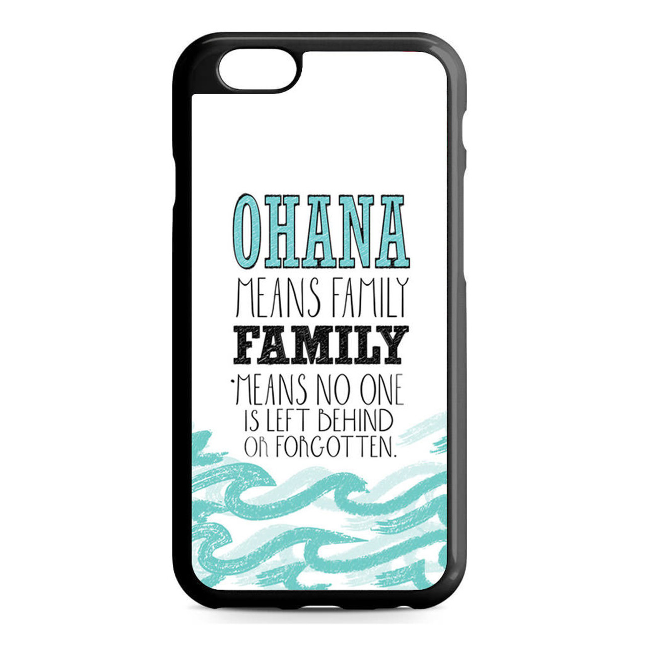 buy popular f2697 2403a Ohana Means Family Lilo and Stitch Disney iPhone 6/6S Case