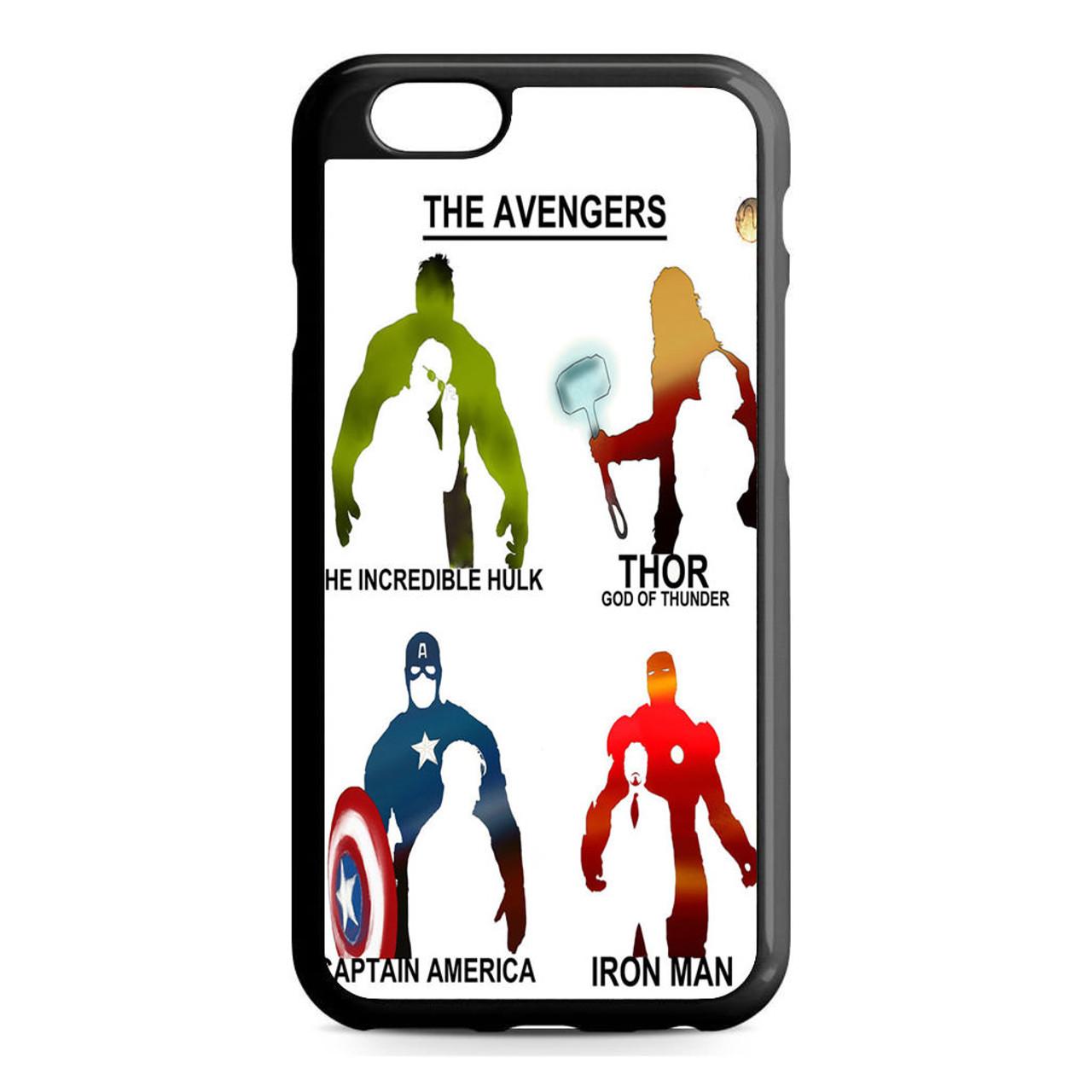 avengers iphone 6s case