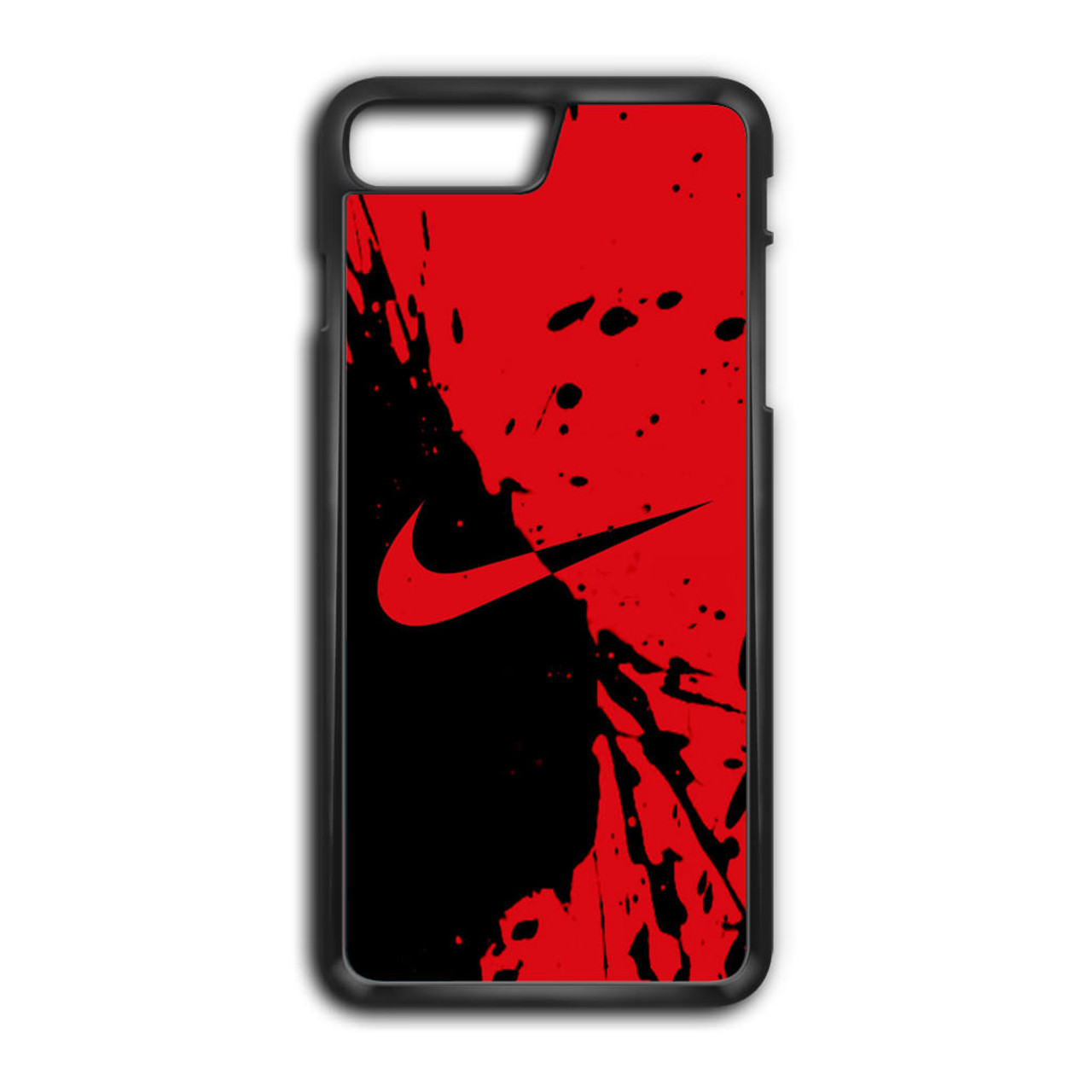 size 40 9363b 8d26b Nike Red and Black iPhone 7 Plus Case