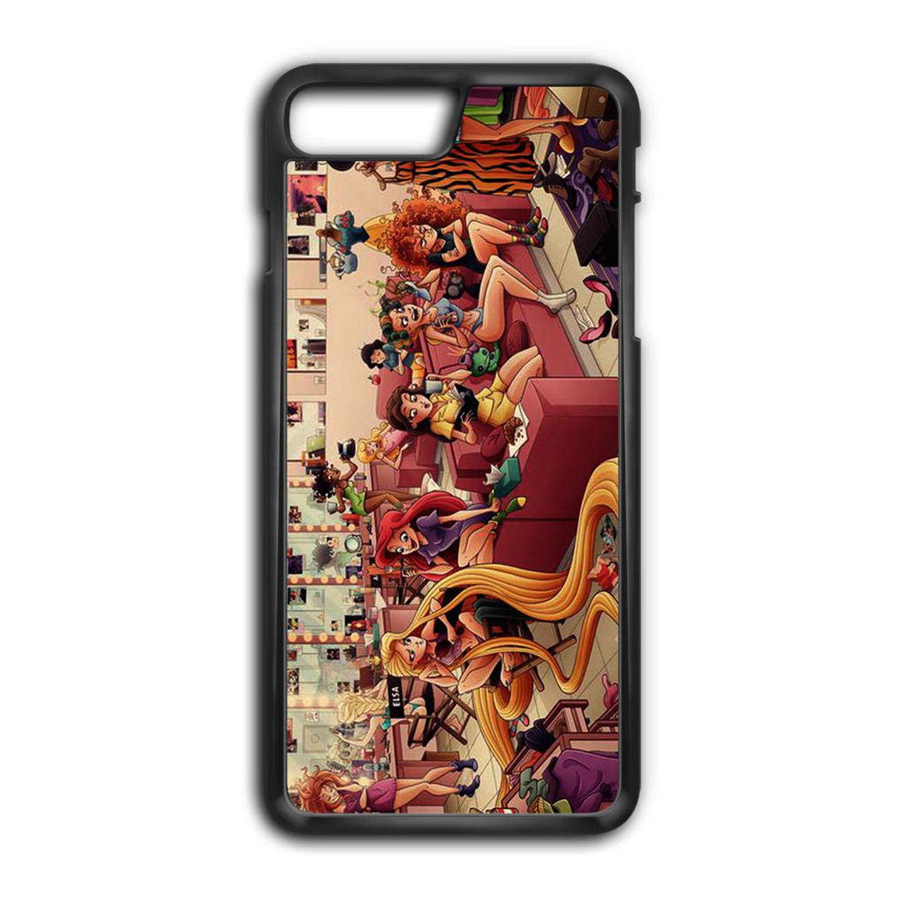 hot sale online 5b85d 8e91b Art Disney Princess iPhone 7 Plus Case