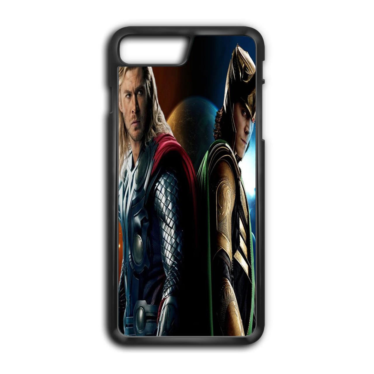 new product e25ae 64c1e Thor and Loki iPhone 7 Plus Case