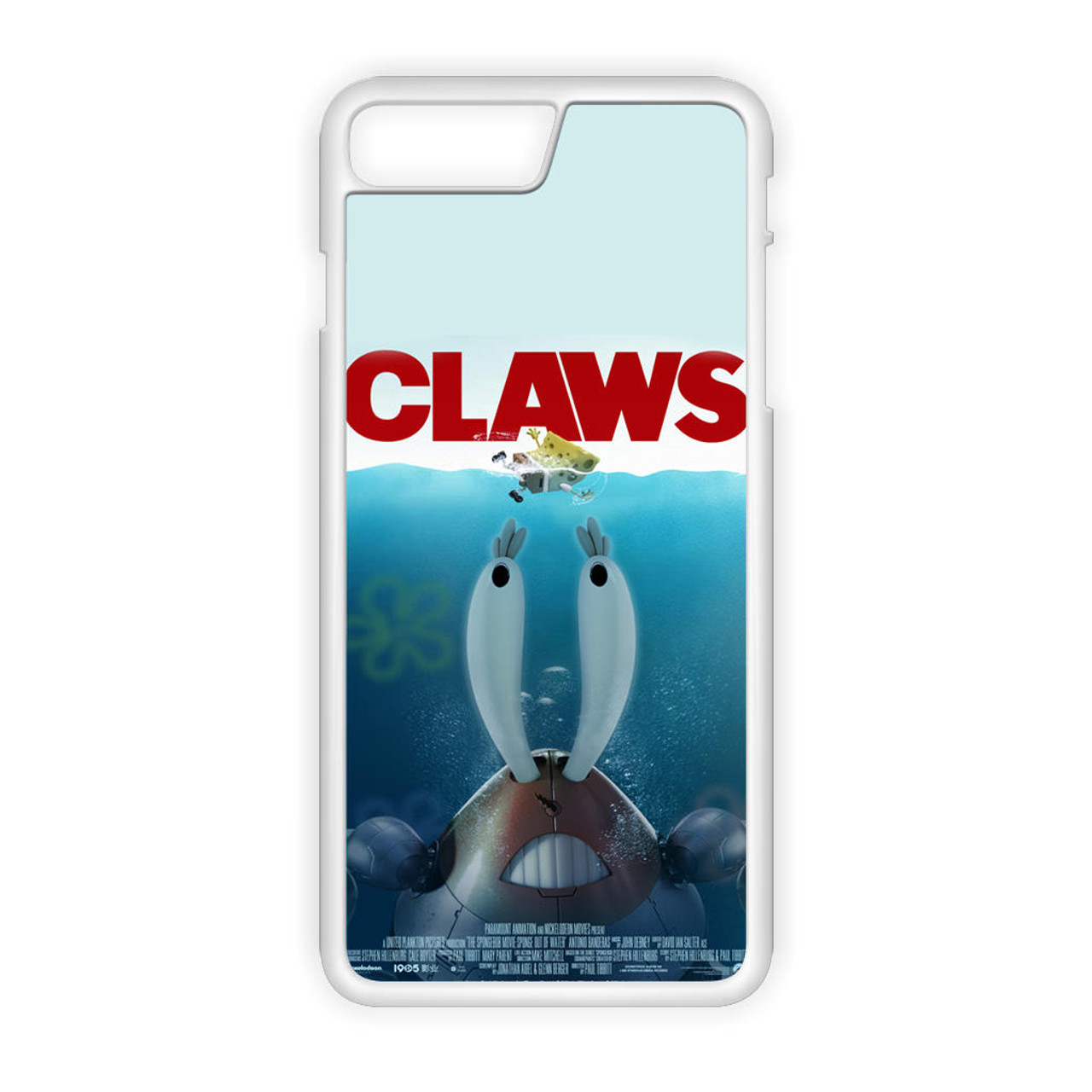 Claws Mr Crabs Spongebob iPhone 7 Plus Case