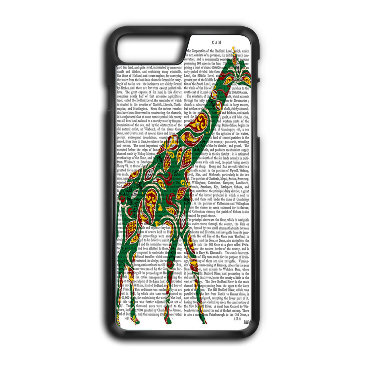 the best attitude 2d80d aabe7 Dictionary Giraffe iPhone 7 Plus Case