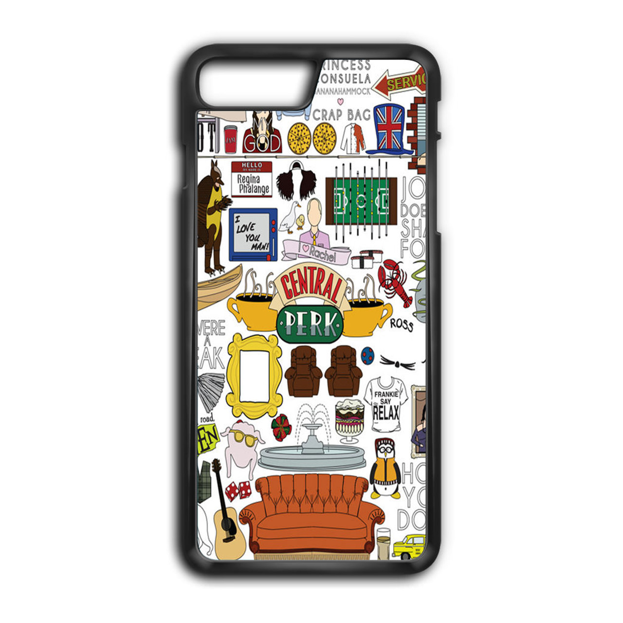 friends tv iphone 7 plus case