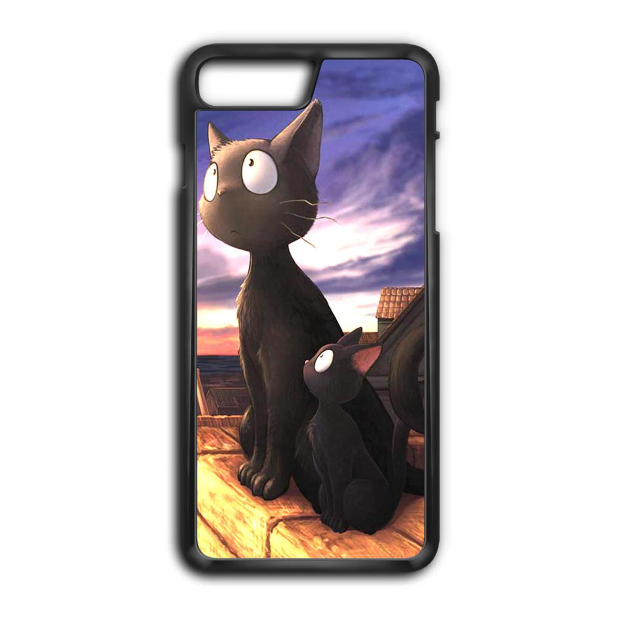 black cat iphone 7 plus case