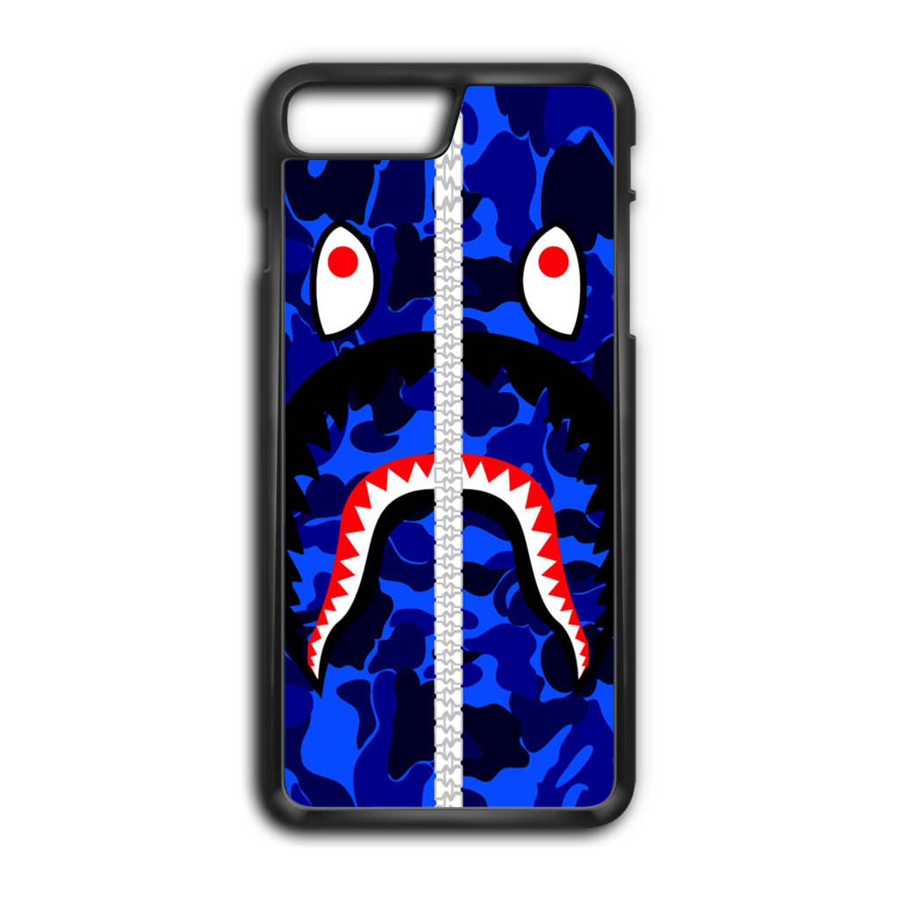 best service 50458 a748f Bape Shark iPhone 7 Plus Case