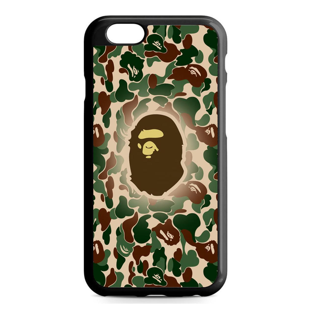 sale retailer 6598f bb0a6 Bathing Ape Bape Camo iPhone 6/6S Case