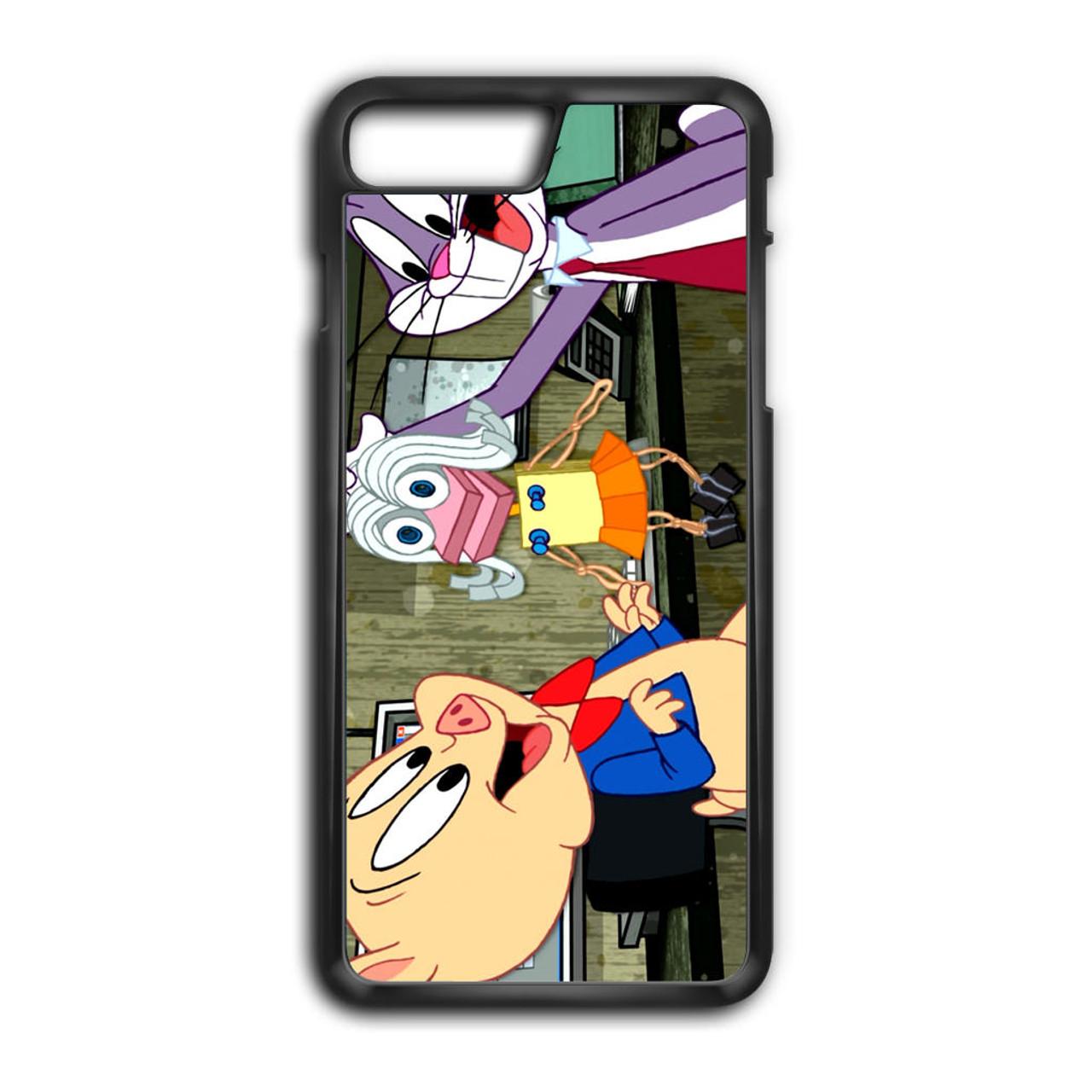 hot sale online 49f5d 06186 Cartoon Porky Pig Bugs Bunny iPhone 7 Plus Case