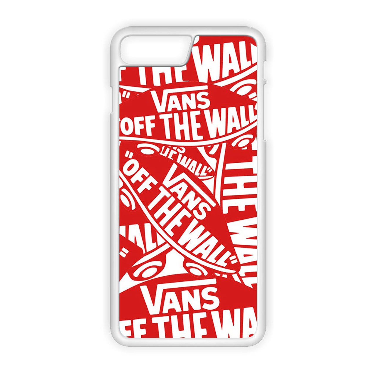 najlepszy dostawca świetne okazje 2017 tani Vans logo iPhone 7 Plus Case