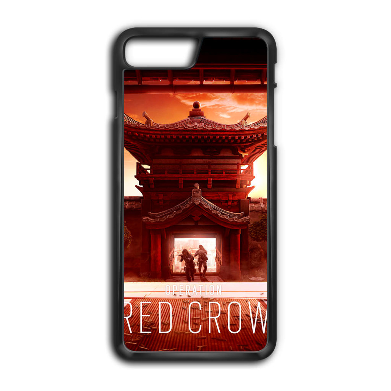 sale retailer 61bed 3ccde Rainbow Six Siege Operation Red Crow iPhone 7 Plus Case