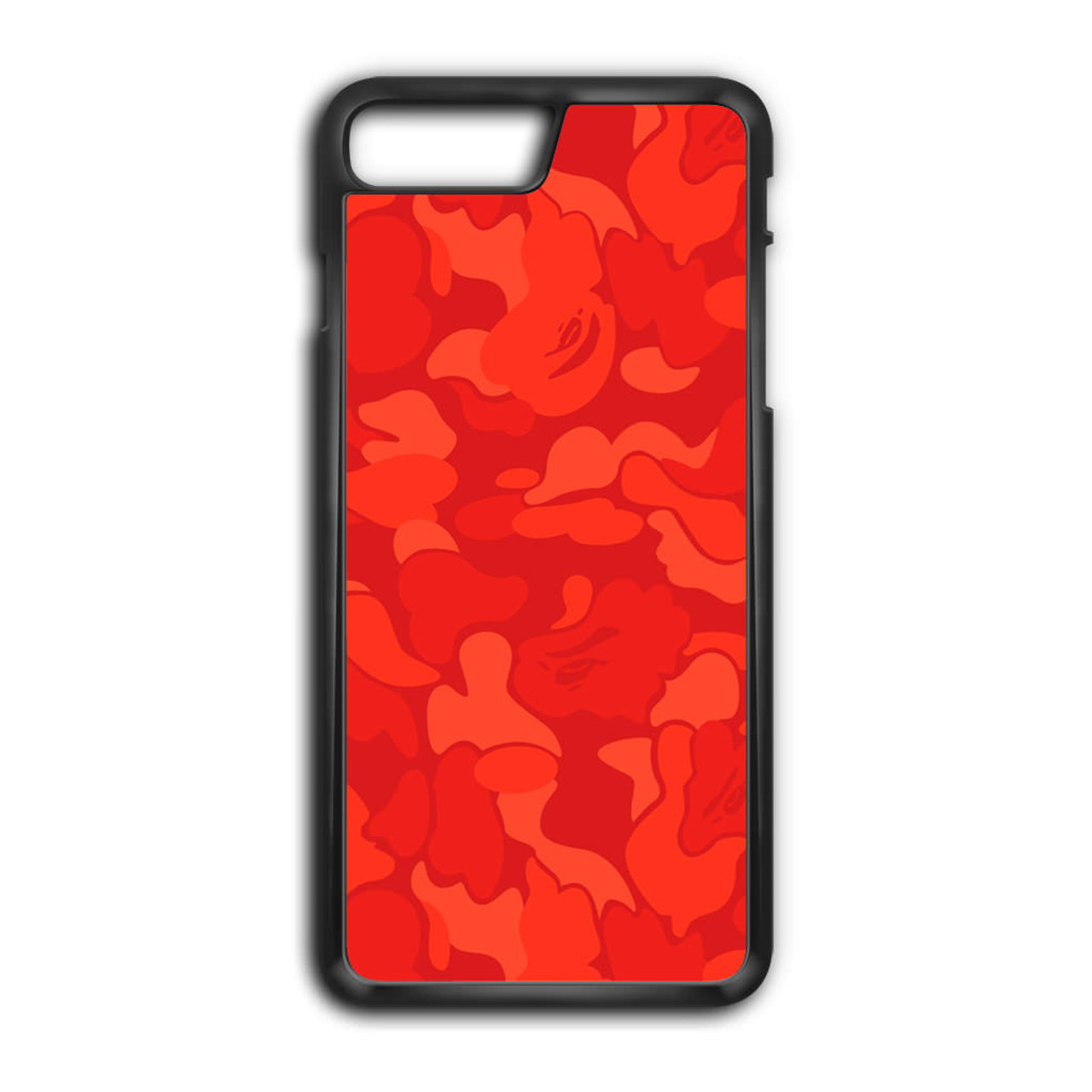 online retailer 8c066 c5a49 Bape Camo Red iPhone 7 Plus Case