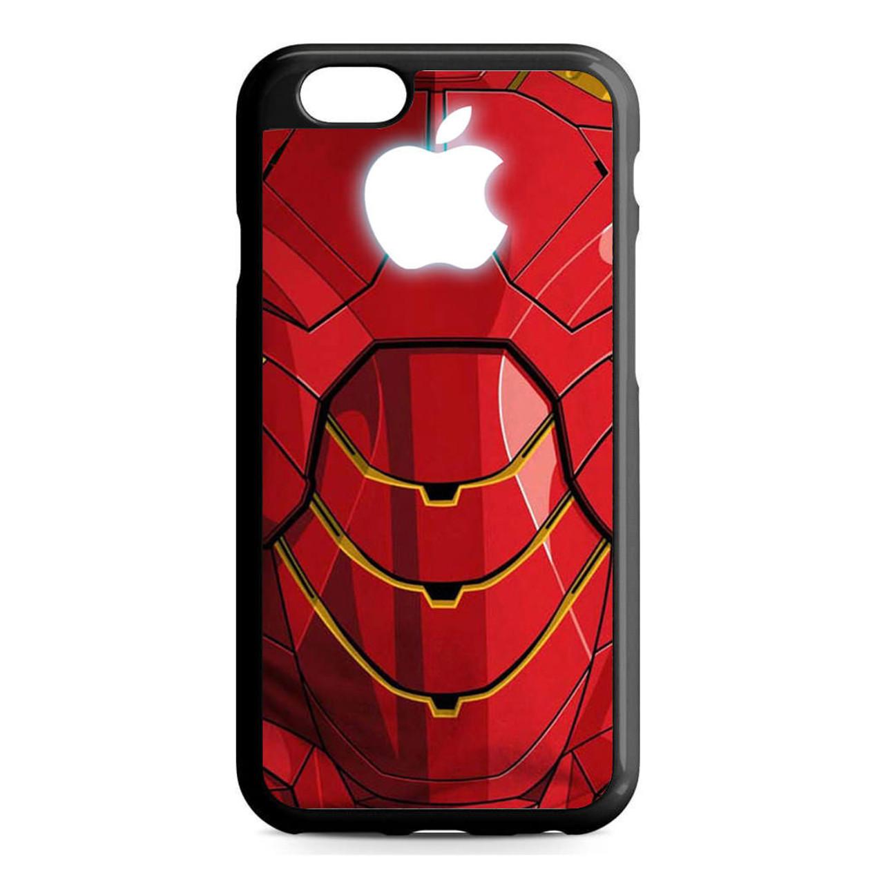 Iron man apple logo iPhone 6/6S Case