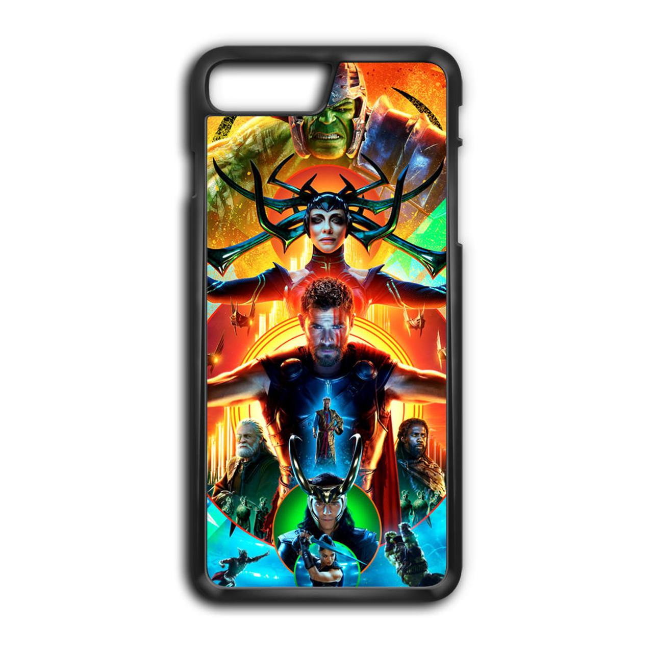 the latest 48cb6 73cad Hulk Hela Thor In Thor Ragnarok iPhone 7 Plus Case