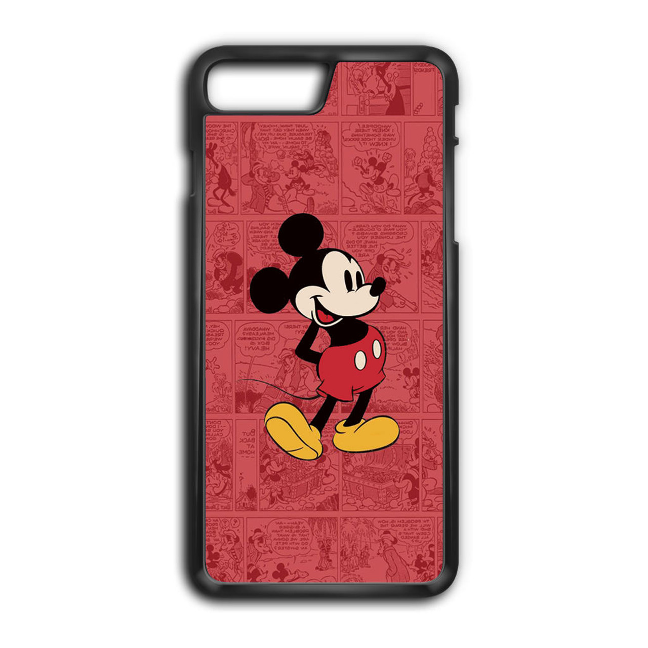 reputable site a553e a14d8 Mickey Mouse Black iPhone 7 Plus Case