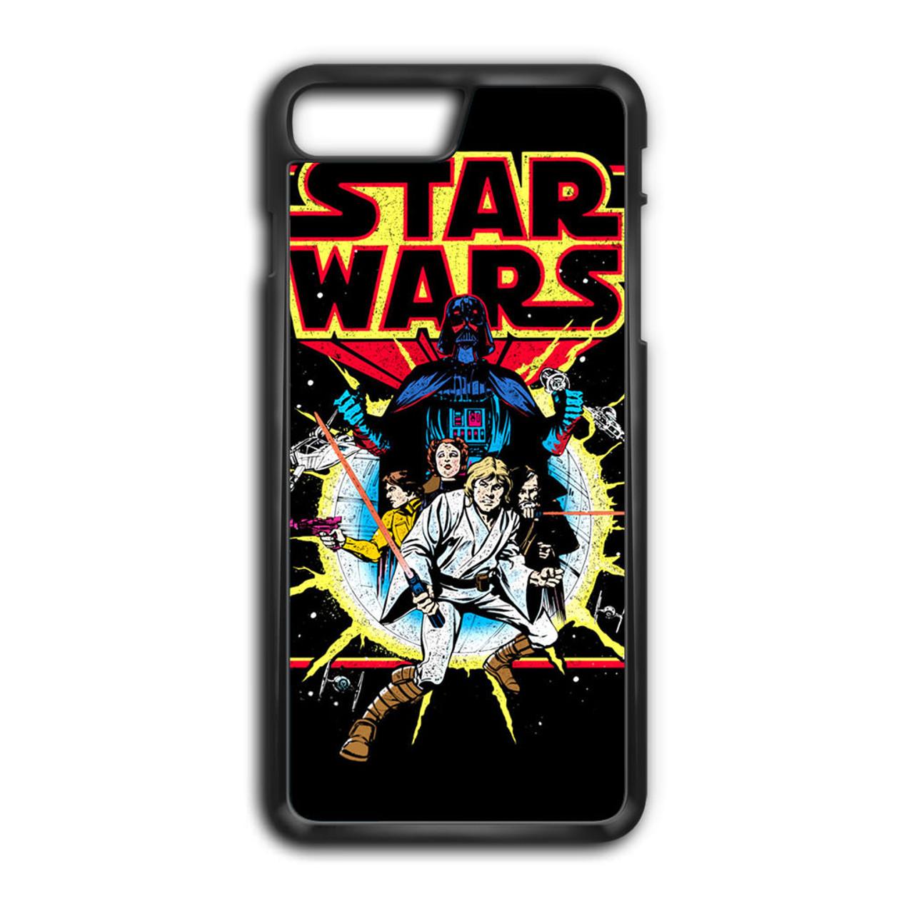wholesale dealer 45fc1 4f1d3 Retro Star Wars Comic iPhone 7 Plus Case