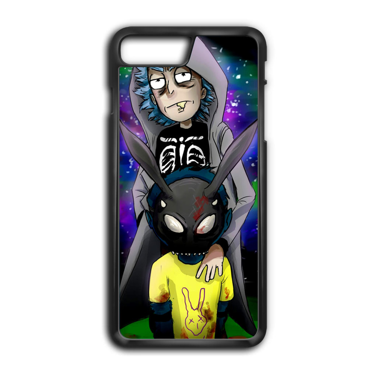 buy online cda17 eebce Rick And Morty Donnie Darko iPhone 7 Plus Case