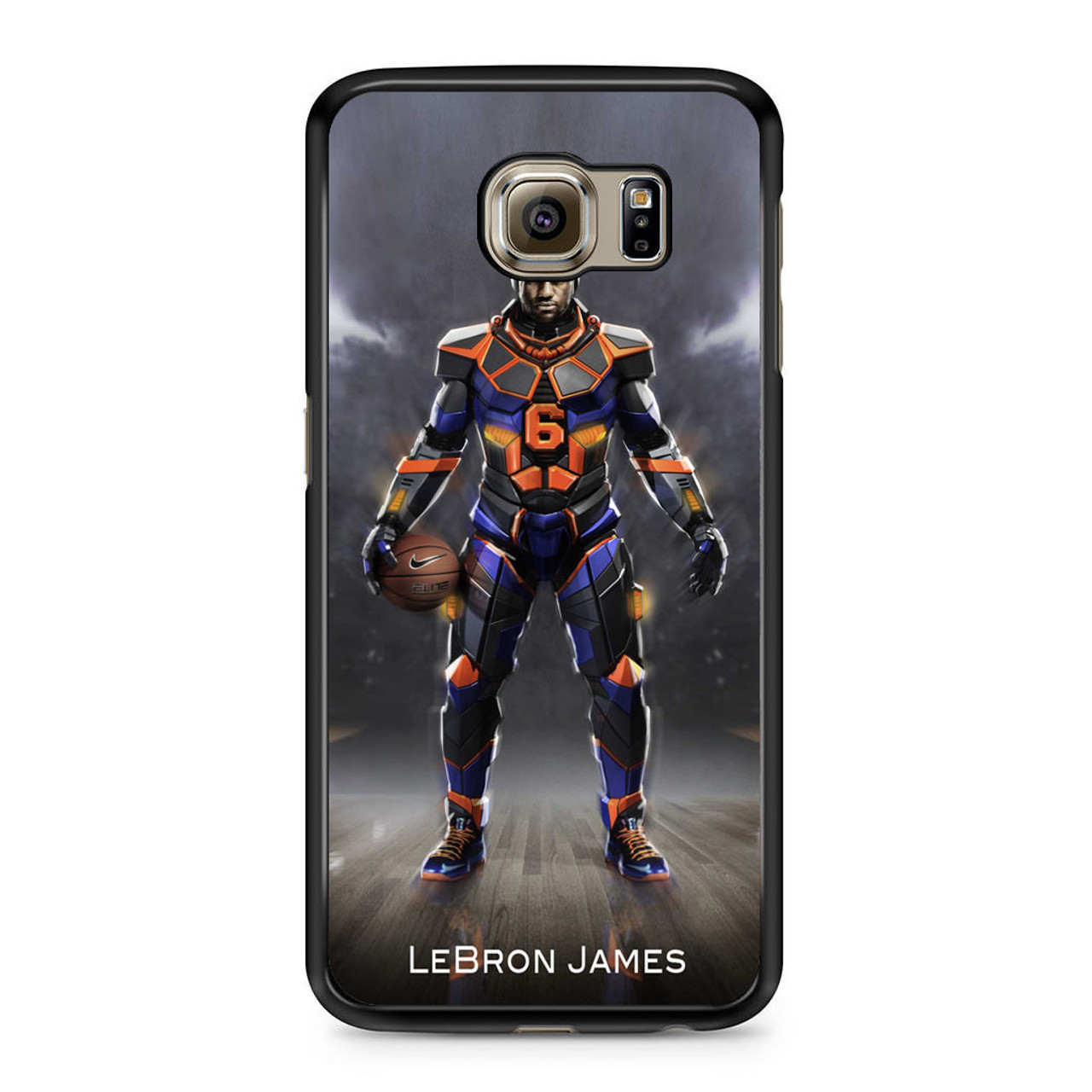 big sale 0fd70 38fa0 Lebron James Nike Samsung Galaxy S6 Case
