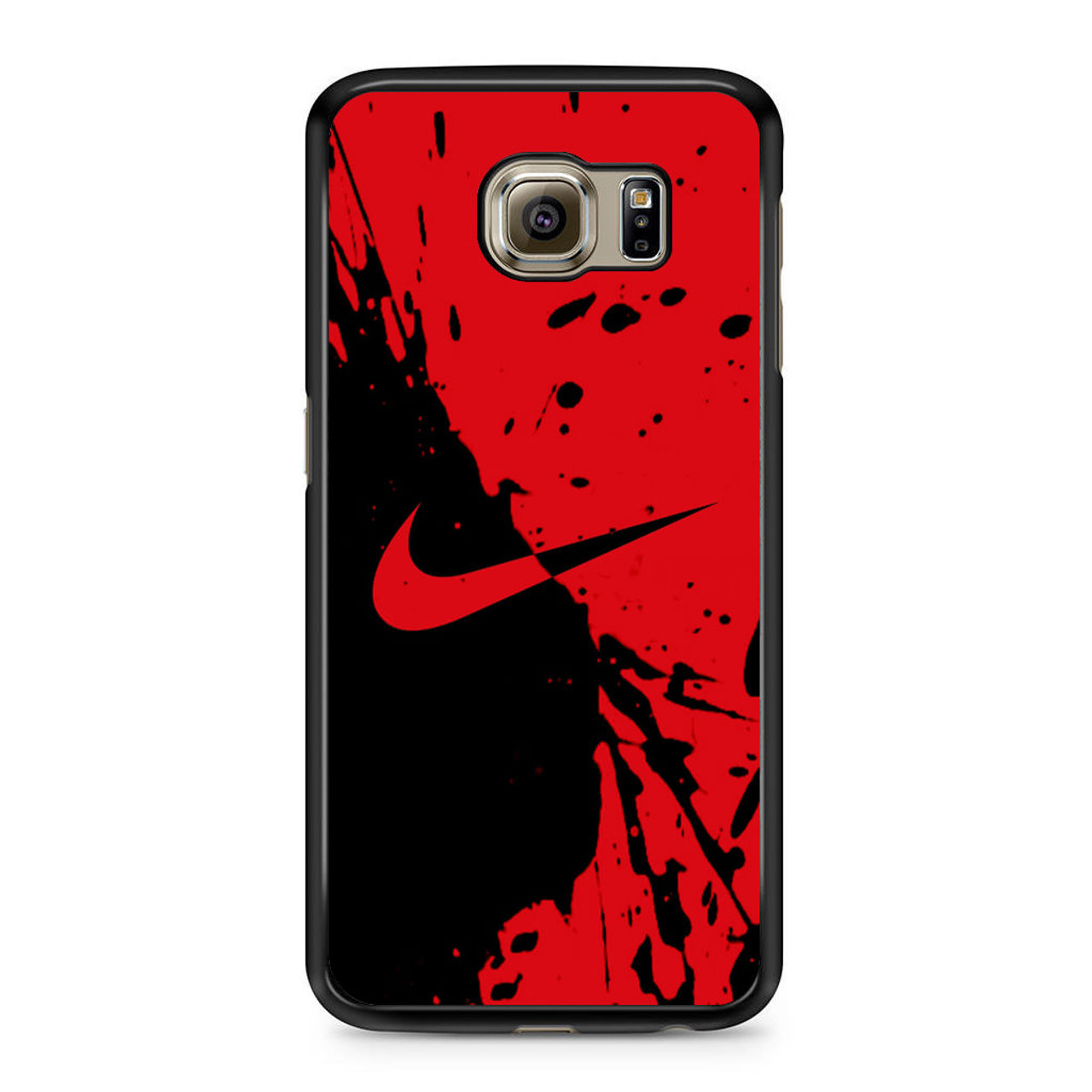 premium selection f1790 eec6c Nike Red and Black Samsung Galaxy S6 Case