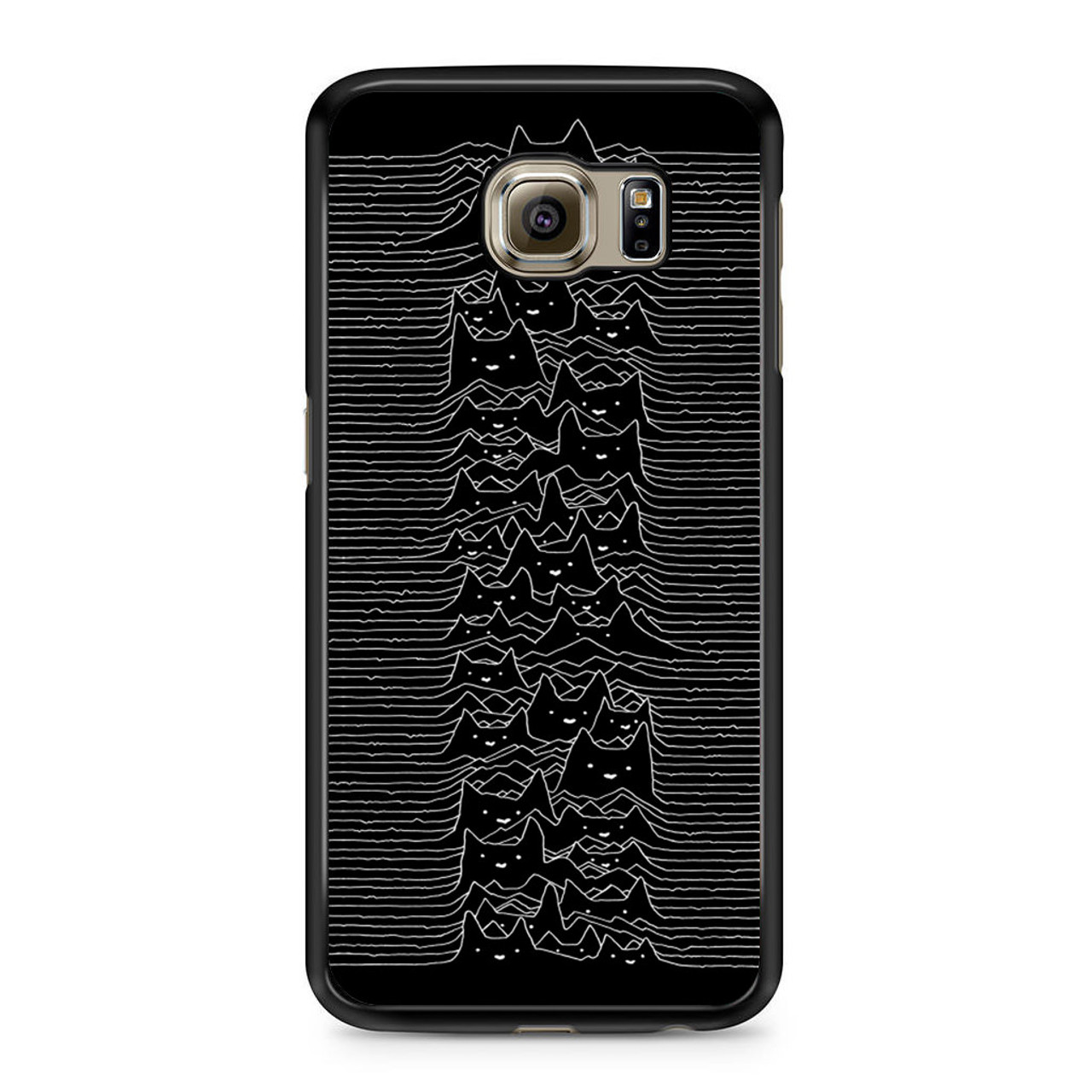 low cost ec07c 77aee Joy Division Cat Samsung Galaxy S6 Case