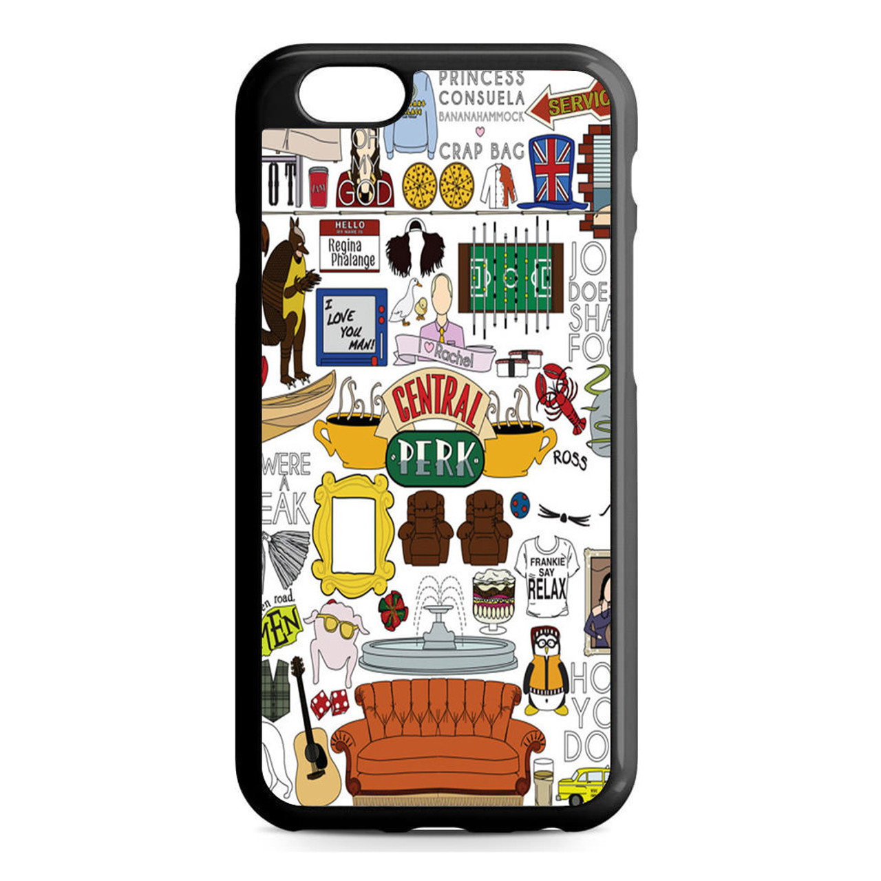 reputable site 01754 8f797 Friends Tv Show Central Perk iPhone 6/6S Case