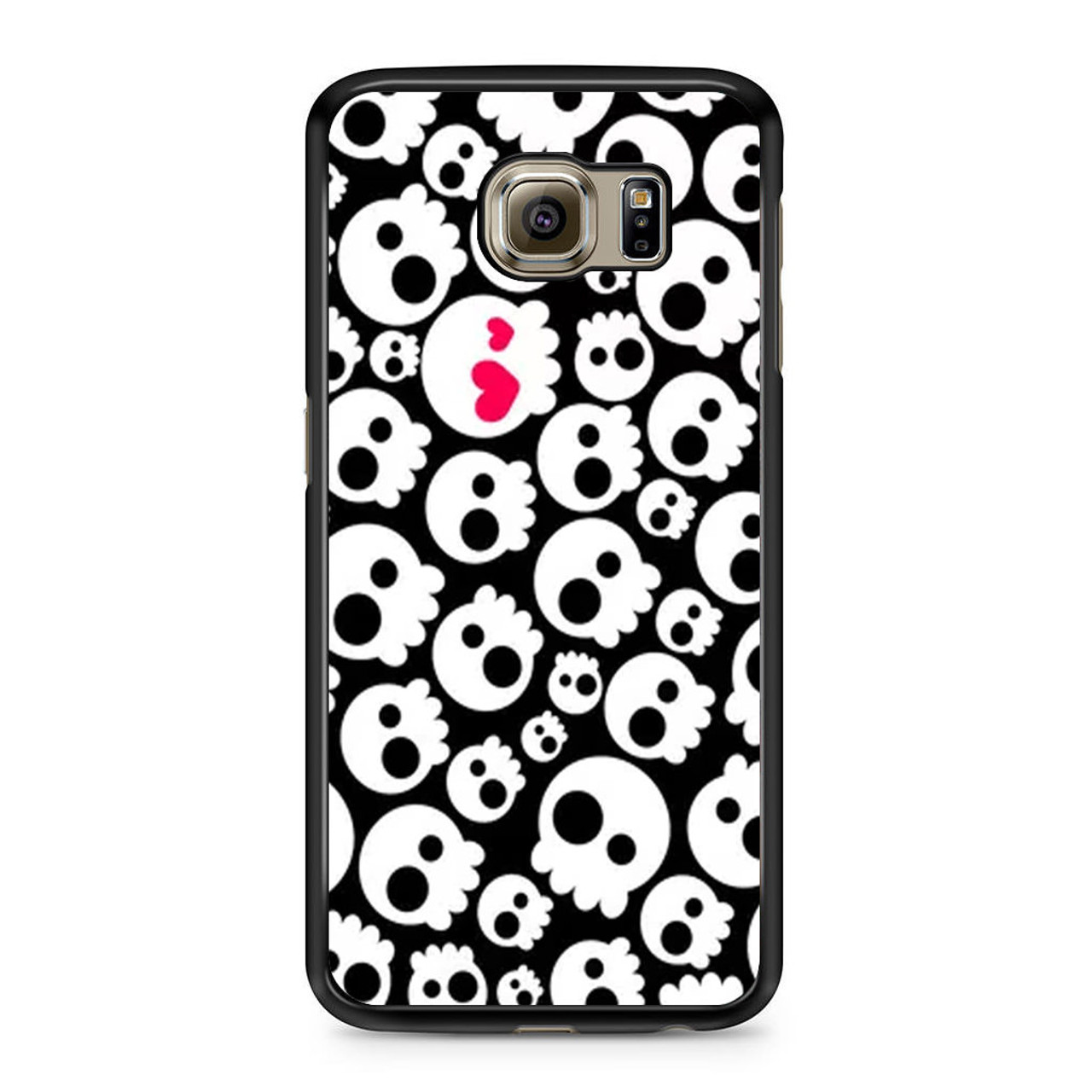 new product 1d190 a8a1d Funny Skull Pattern Samsung Galaxy S6 Case