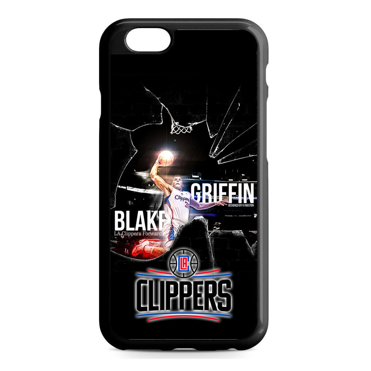 online store a0670 3899a Blake Griffin Clippers iPhone 6/6S Case