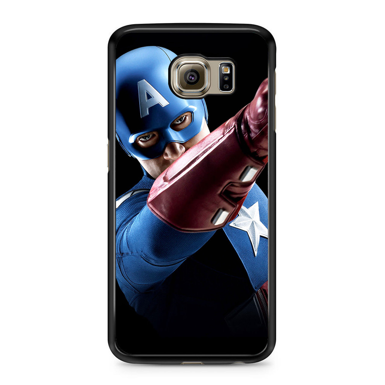 quality design 059ab 4ebf3 Avengers Captain America Art Samsung Galaxy S6 Case