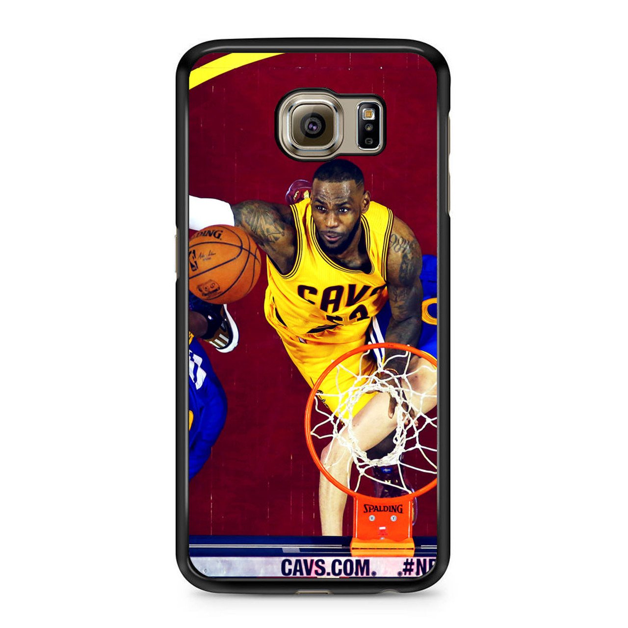 quality design 031cd b551c Lebron James Nba Basketball Rebound Samsung Galaxy S6 Case