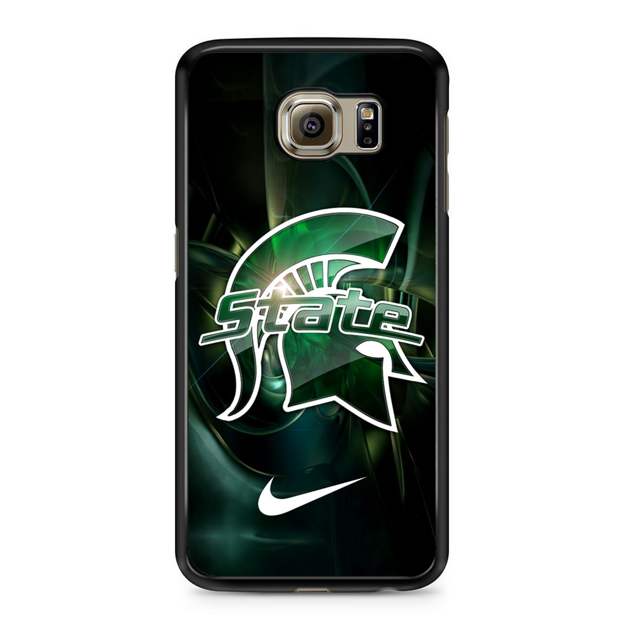 finest selection 00569 f57bc Michigan State Nike Samsung Galaxy S6 Case